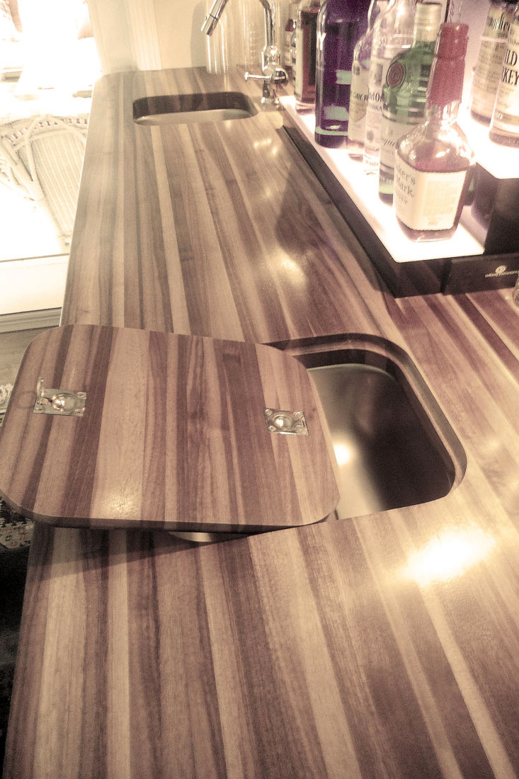 ... Walnut Countertop, Walnut Bartop ...